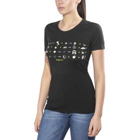 Meru Beziers SS Shirt Women Black